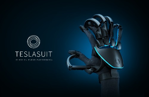 Teslasuit's new VR gloves let you feel virtual objects and track your pulse