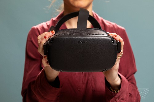 The Oculus Quest is getting controller-free hand tracking this week