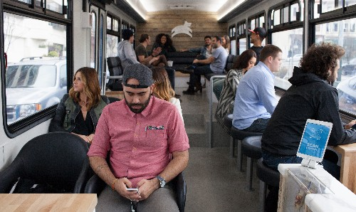 All aboard San Francisco's startup bus craze