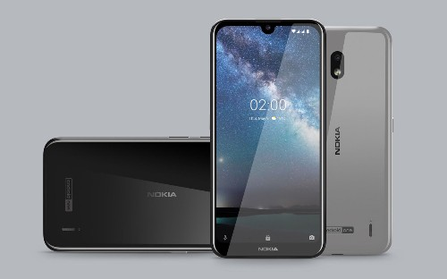 The Nokia 2.2 has a small notch and costs $140