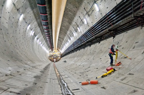 The mysterious object blocking Seattle tunnel was just a pipe