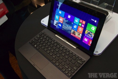 Asus' transforming T100 tablet promises 11 hours of Windows 8 for just $349