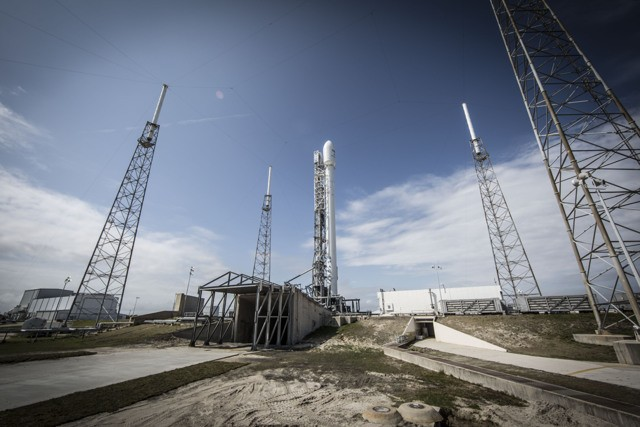 SpaceX has successfully launched a Falcon 9 rocket carrying two satellites