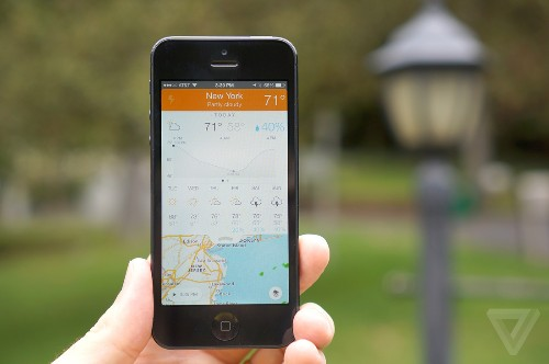 Perfect Weather for iPhone puts animated radar at your fingertips