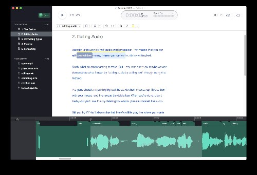 Groupon founder's new app Descript edits audio files directly from text