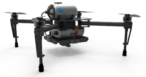 Hydrogen fuel cells promise to keep drones flying for hours