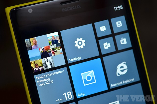 Leaked Windows Phone 8.1 screenshot reveals new on-screen buttons