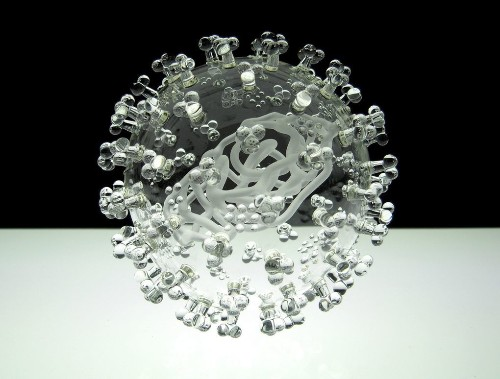 Gorgeous glass sculptures let you see into the world's most deadly viruses