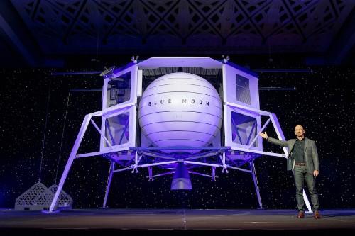 Jeff Bezos' Blue Origin teams up with spacefaring heavyweights for human lunar lander design