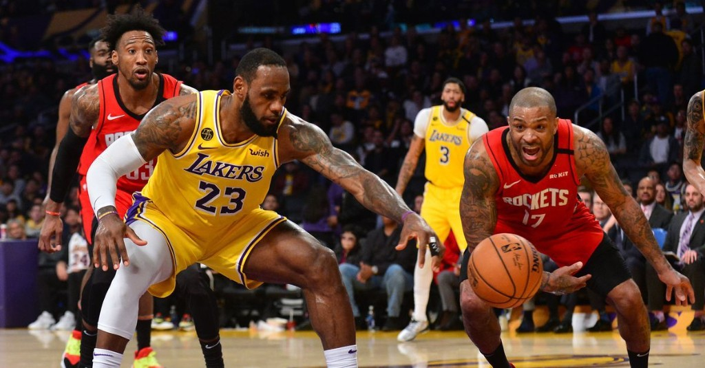 Houston Rockets vs. Los Angeles Lakers seeding game preview