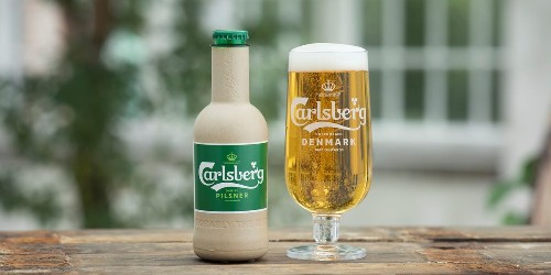 Carlsberg brewery working on paper beer bottles