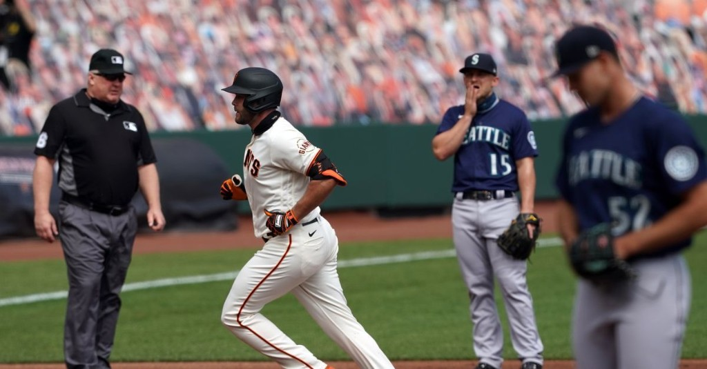 Orange is the new offensive blackout: Mariners swept by Giants in season series, lose 6-4