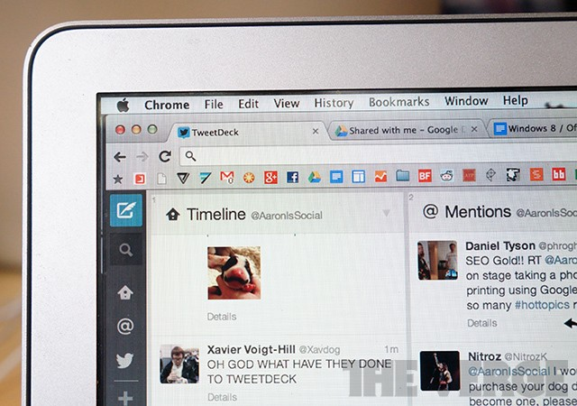 TweetDeck for web and Chrome updated with new UI
