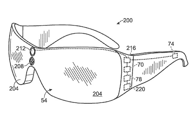 Microsoft patent application resembles leaked Kinect Glasses project