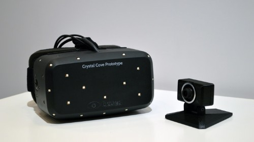 Oculus reveals Crystal Cove prototype virtual reality headset with intriguing OLED display