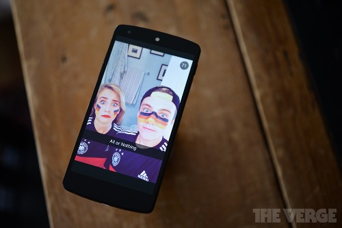 Surprise Snapchat experiment shares stories from the World Cup final