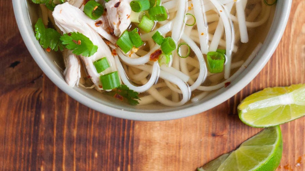 Recipe: The Easiest Chicken Pho You Will Ever Make (Really)