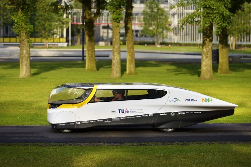 Solar-powered 'family car' of the future prepares to race across the Outback