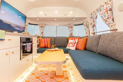 Remodeled Airstream is so cool we'd live in it full time