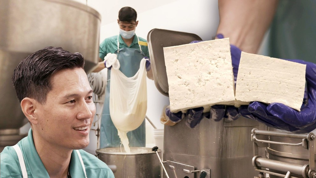 How Tofu is Made by Hand