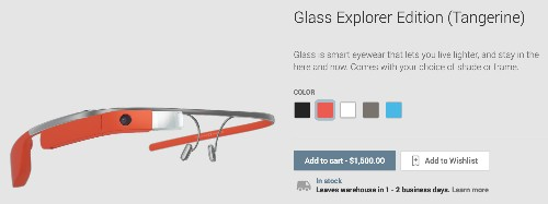 Today's your last chance to spend $1,500 on Google Glass