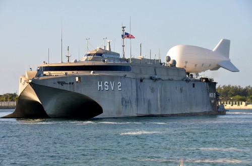 US Navy experimenting with drones and blimps to fight Caribbean drug smugglers