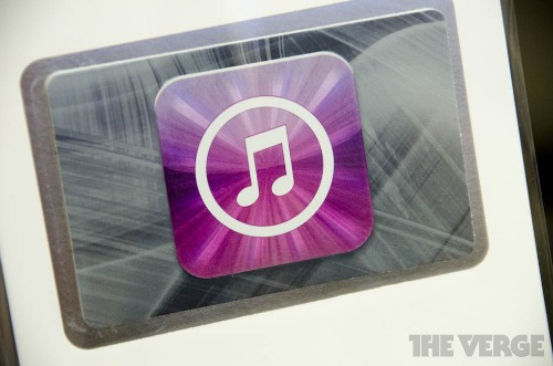 iTunes still dominates digital music sales, but the growth is slow as iRadio approaches