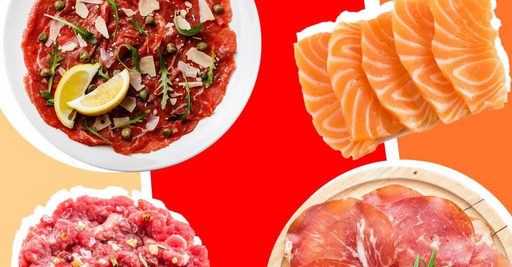What's the Difference Between Crudo, Sashimi, Tartare, and Carpaccio?