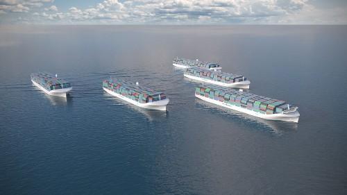 Rolls-Royce is developing drone cargo ships