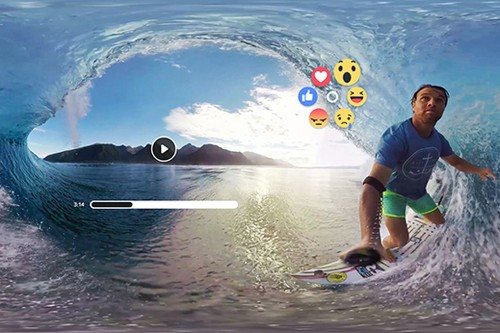 Facebook will soon let you Like and share 360-degree videos in the Gear VR