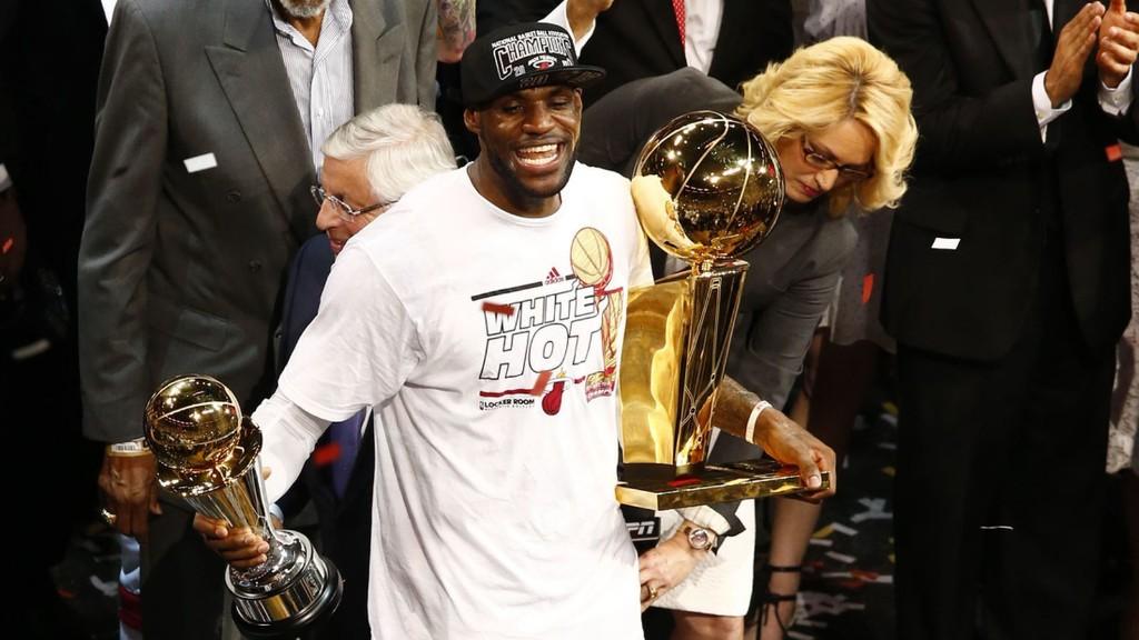 The NBA belongs to LeBron cover image