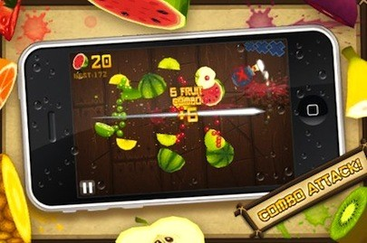 The Fruit Ninja game is going to be a movie
