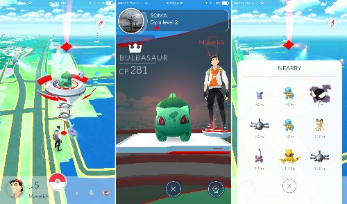 This is Pokémon Go, the ambitious AR game bringing pocket monsters to life
