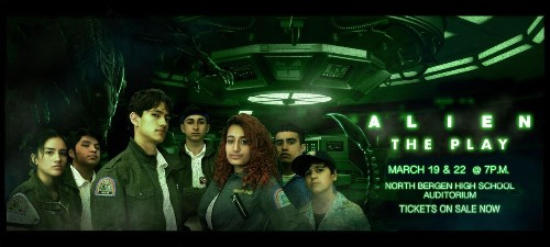 A New Jersey high school adapted Alien for its spring play