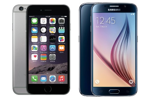 iPhone 6 vs. Galaxy S6: a pixel-perfect size comparison
