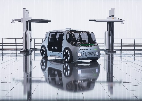 Jaguar Land Rover unveils 'autonomy ready' electric shuttle concept