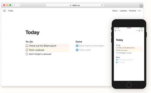 Notion brings its powerful note-taking app to Android