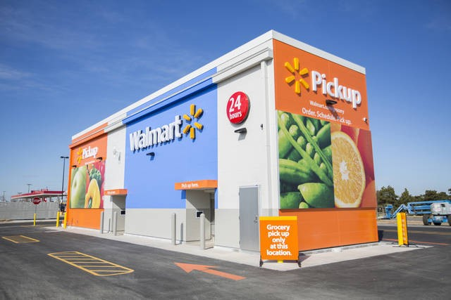 Walmart is testing its own AmazonFresh grocery pickup competitor