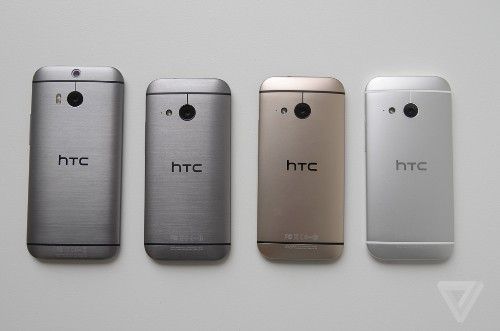 HTC's One mini 2 recreates the company's flagship phone in a trimmed-down package