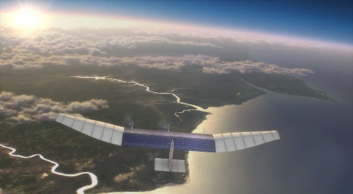 Facebook is building drones with lasers to bring internet to the world
