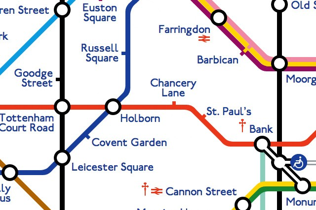 Programmer shuns images, recreates intricate London subway map from pure web code