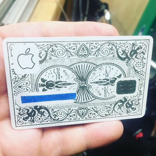The Apple Card was made to be defaced