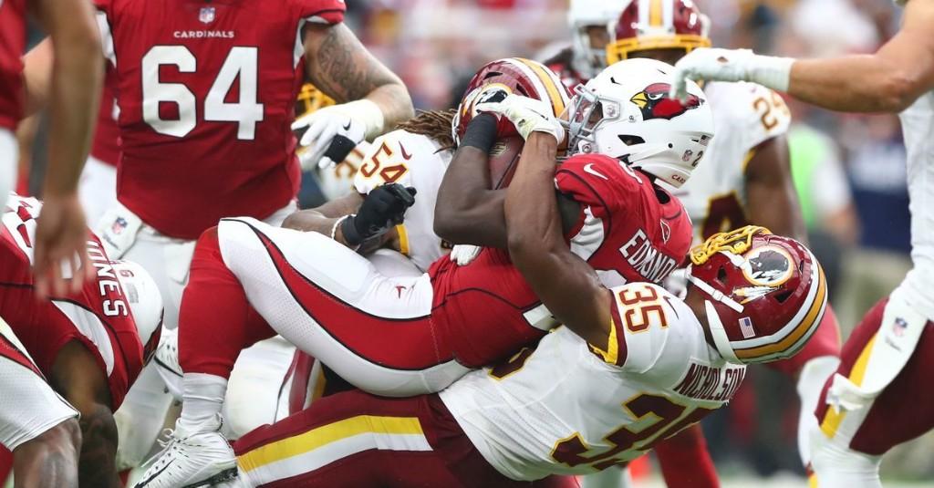 NFL Week 2: Washington Football Team vs Arizona Cardinals 1st Quarter