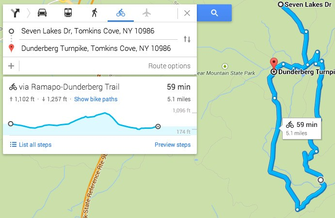 Google helps out cyclists by adding elevation data to Maps bike routes