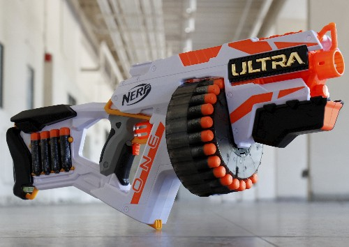 Nerf's new Ultra blasters shoot farther than ever before — but there's a catch