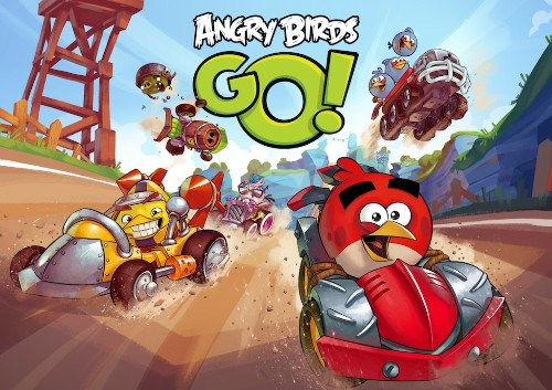 Rovio takes on 'Mario Kart' with 'Angry Birds Go'