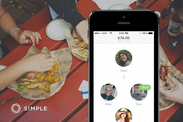 Simple announces MoneyDrop to help you send money to nearby friends