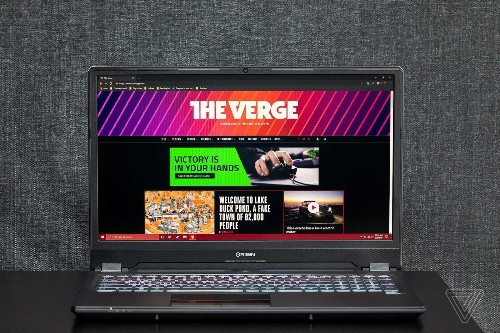 The Origin EVO 16-S's 16-inch display doesn't make for a better laptop