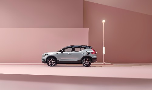 Volvo unveils its first fully electric car — and a bold pledge to go carbon-neutral