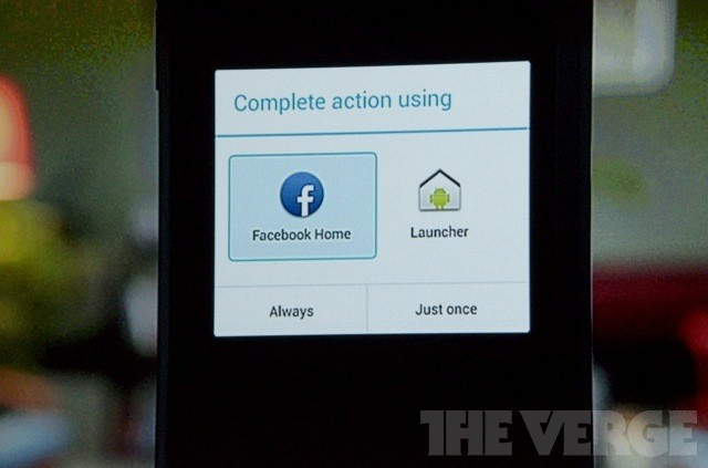 Opportunity, meet problem: Facebook Home's uneasy relationship with Google
